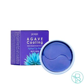 Патчи для глаз Petitfee Agave Cooling Hydrogel Eye Patch  с экстрактом агавы