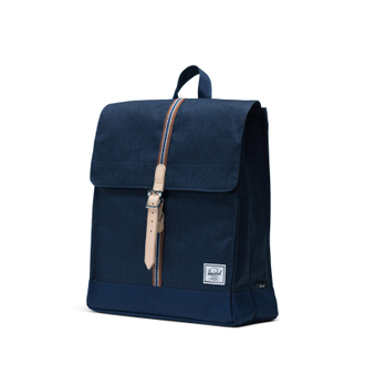 Рюкзак Herschel City Mid Volume Medieval Blue Crosshatch/Medieval Blue