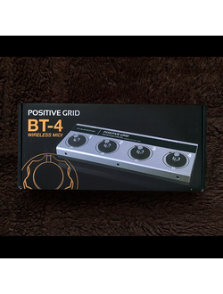 Positive Grid BT4 Bluetooth Midi Controller для iOS устройств