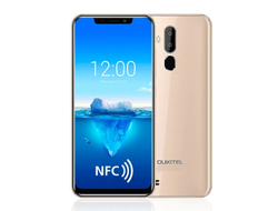 Смартфон OUKITEL C12 Plus 2/16 Gold NFC