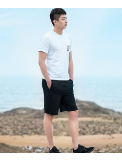 Шорты Xiaomi U'Revo Men's Casual Comfortable Knit Shorts черные размер L