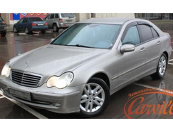 Mercedes Benz C-klasse sedan (W203) 2000-2006 дефлекторы окон