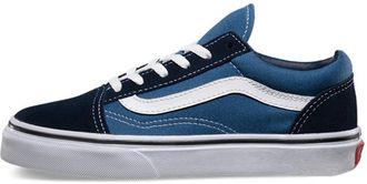 Кеды vans old skool синее