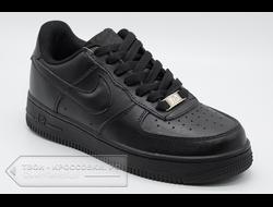 1409836b Кеды Nike Air Force 1 Black Low женские/мужские арт. N98