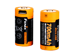 Аккумулятор 16340 Fenix ARB-L16-700UP (700MAH, USB)