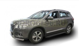 Пороги на Haval H6 (2014-…) Black Optima