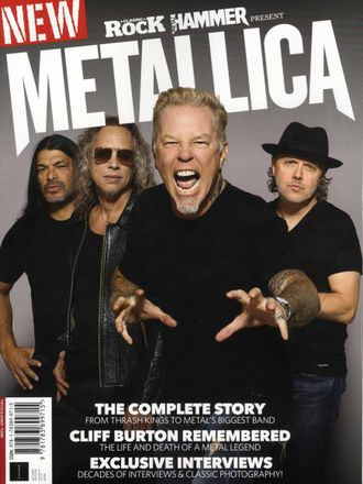 Metallica Special METAL HAMMER Magazine And CLASSIC ROCK Magazine Presents