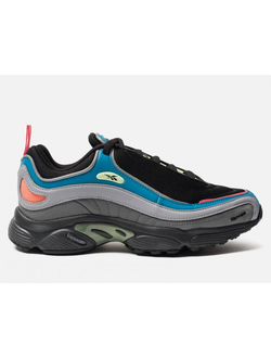 Кроссовки Reebok Daytona DMX Black Blue Shadow Alloy