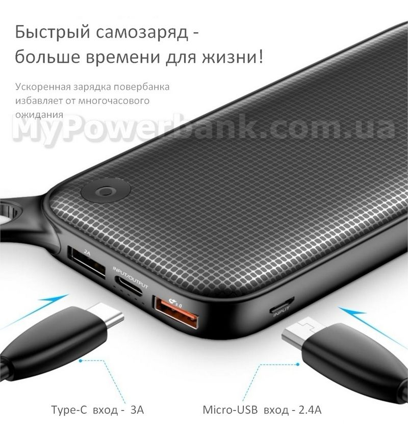 BASEUS POWER BANK описание