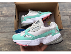 Кроссовки Adidas Falcon White/Green
