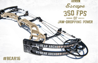 Блочный лук Bear Archery Escape RH 60 lbs Realtree Xtra Green