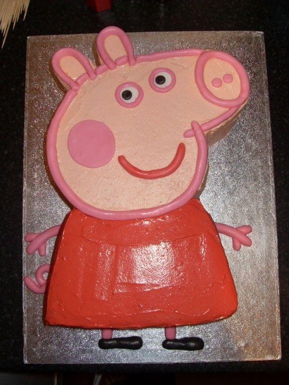 Тортик свинка пеппа фото из крема