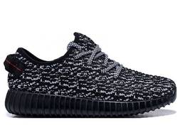 КРОССОВКИ ADIDAS YEEZY BOOST 350 Black/white