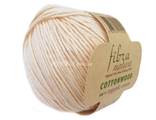 Пряжа Fibranatura Cottonwood 41147 кремовый
