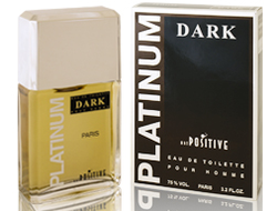 Platinum Dark eau de toilette for men
