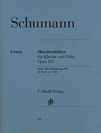 Schumann  Fairy-Tale Pictures (Märchenbilder) op. 113  for Viola and Piano