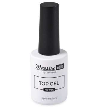 Топ без липкого слоя Maestro nails Top gel Cosmoprofi 15мл