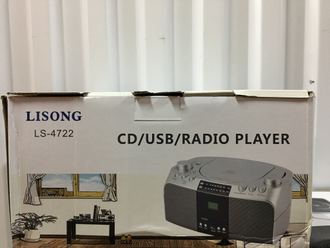 Бумбокс Cd USB LISONG LS-4722