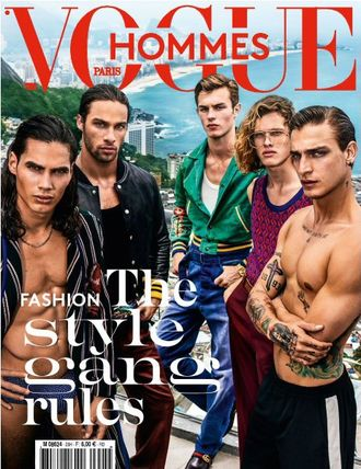 VOGUE HOMMES PARIS Magazine № 25 Spring-Summer 2017 ИНОСТРАННЫЕ ЖУРНАЛЫ PHOTO FASHION, INTPRESSSHOP