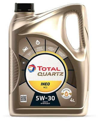 TOTAL QUARTZ INEO MC3 5W30, 4л.