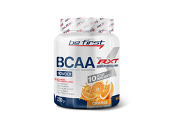 (Be First) BCAA RXT Powder - (230 гр) - (апельсин)