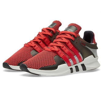 Мужские Adidas EQT Support Grey/Black/White