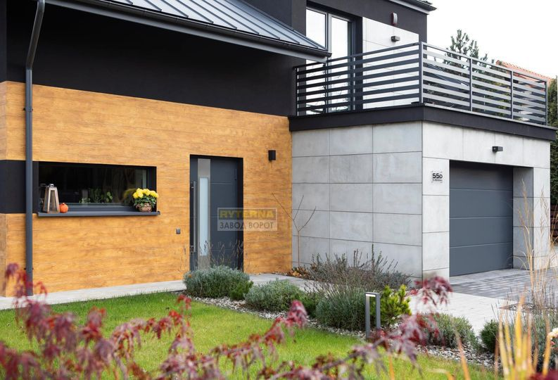 Красивые двери для дома - алюминиевый теплый профиль - установка Днепр