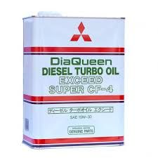 MITSUBISHI DiaQueen Diesel Turbo Oil Exceed Super CF-4 10W-30 (4_литра/OEM:2987610)