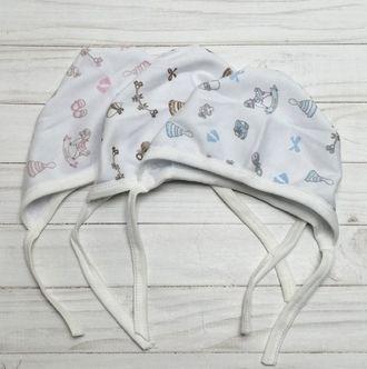 Чепчик для новорожденного (Артикул 601-081)