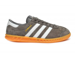 Adidas Hamburg Gray серые