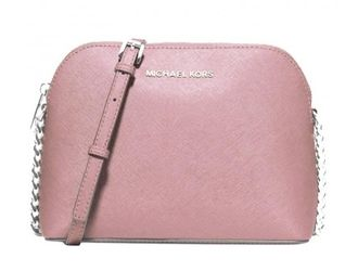 Сумка Michael Kors Cindy Large Dome Crossbody (Розовая)
