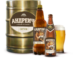 Пиво Андреич 0,5 л, 1 бут.