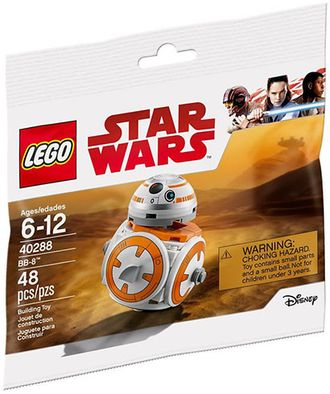 # 40288 Минифигурка BB–8 / BB–8 Minifigure
