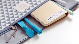 USB мини вентилятор Xiaomi Mi Portable USB Fan (Blue)