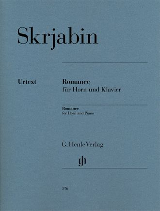 Skrjabin Romance for Horn and Piano
