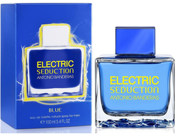 Electric Seduction Blue for Men Antonio Banderas туалетная вода