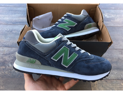 Кроссовки New Balance 574 Gray/Green