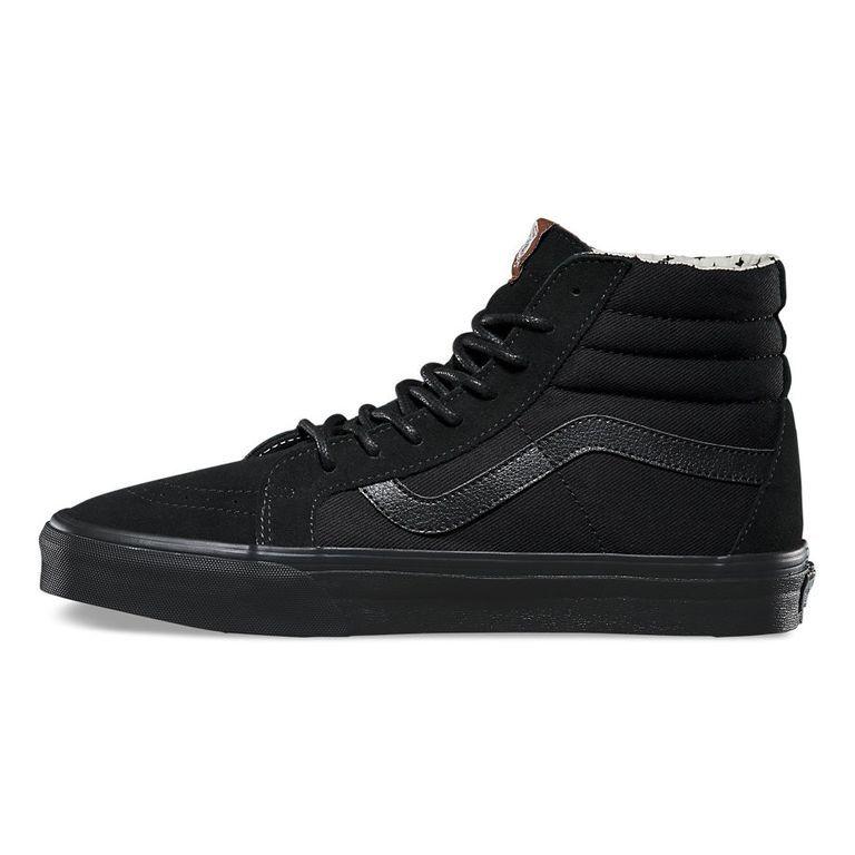 Кеды Vans SK8-HI черные высокие 17507892149