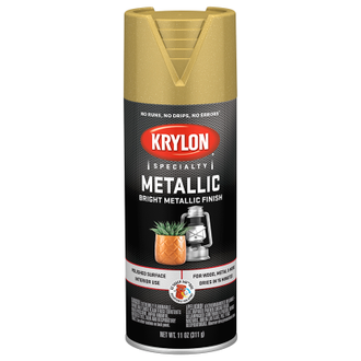Krylon Metallic  Bright Gold 1701