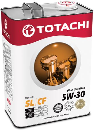 Totachi Fine Gasoline SL/CF 5W-30, 4л