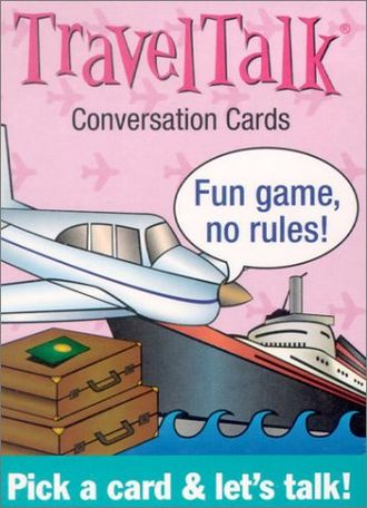 Travel Talk Conversation cards