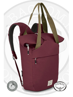 Osprey Arcane Tote Mud Red в магазине Bagcom