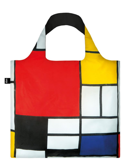 Сумка LOQI MUSEUM COLLECTION - PIET MONDRIAN Composition with Red, Yellow, Blue