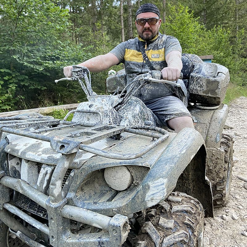 Оренда квадроцикла Yamaha Grizzly 450 в Яремче