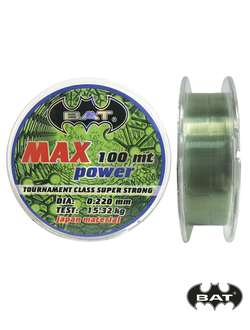 Леска BAT MAX POWER 100м.