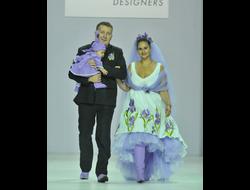 11e1cf9c666de7a Платье из белого льна с вышивкой Наталья Гайдаржи АРТ - ПВБ1005/НА ЗАКАЗ