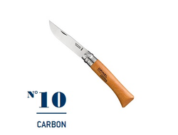 Нож Opinel №10 Carbon
