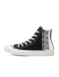 Кеды Converse All Star Love Fearlessly высокие