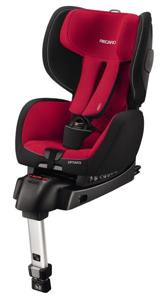 Recaro optiafix Racing Red