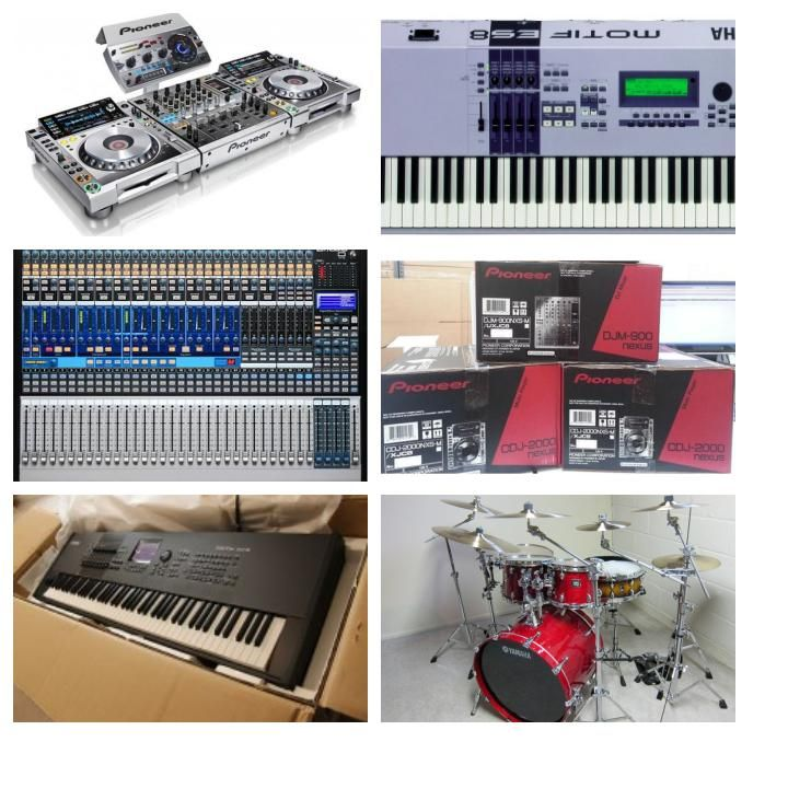 Products catalog - Brand New Yamaha Motif Xf8 & Motif Xf6 61